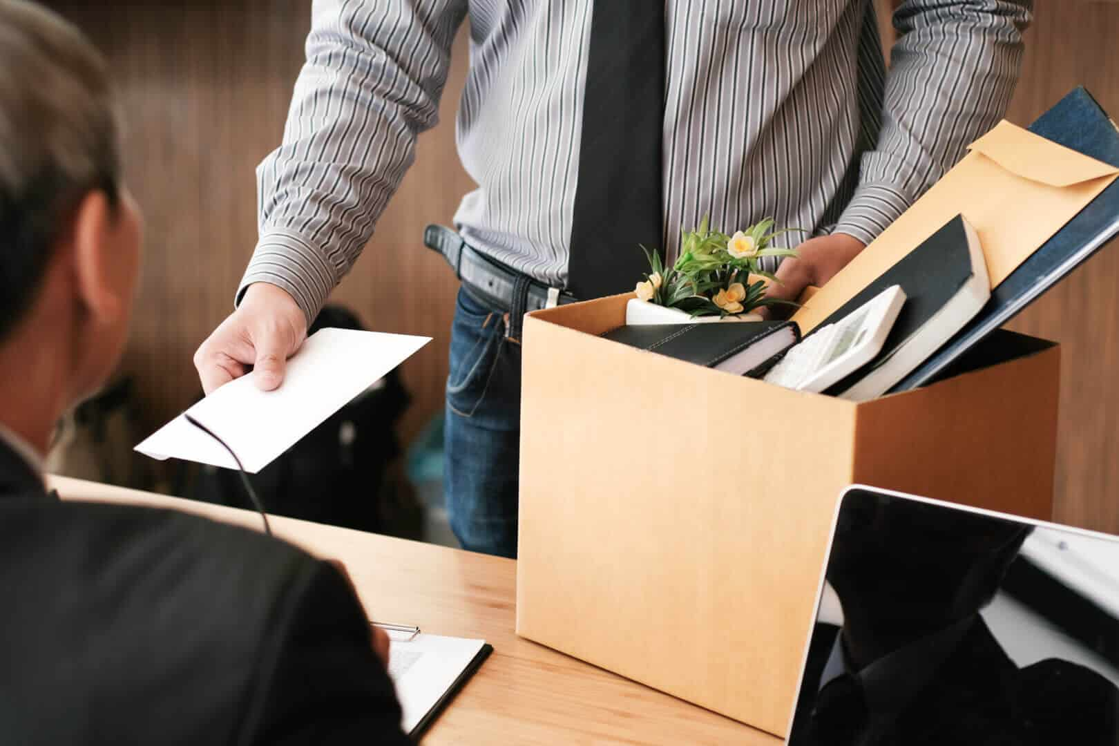 Employee Resigns