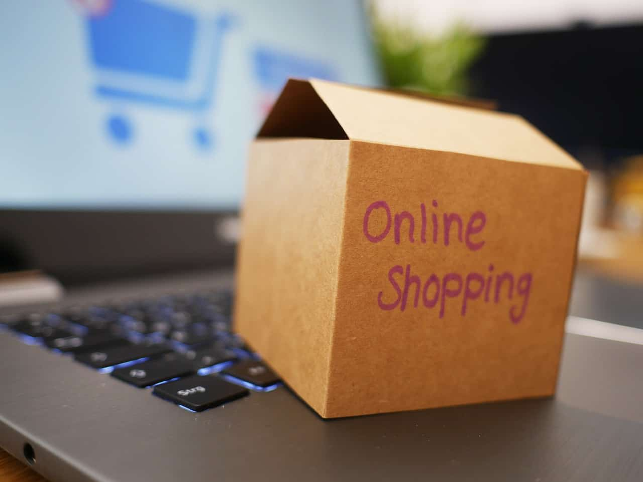 box online shop package